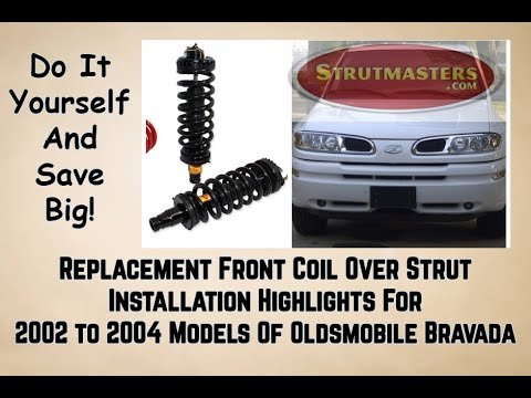 2002-2004  Oldsmobile Bravada  Front Strut Replacement  Installation