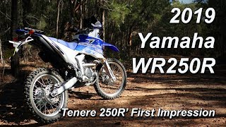 7. 2019 Yamaha WR250R - First Ride & Commuter Impression 'Tenere 250R'