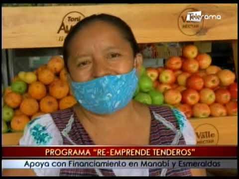 Programa Re-Emprende Tenderos apoya con financiamiento en Manabí y Esmeraldas