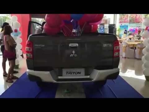 พรีวิวรอบคัน All New Mitsubishi Triton 2015 โฉมใหม่ รุ่น DoubleCab Plus GLS Navi