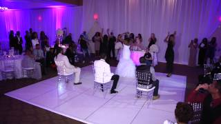 Bride Does Beyonce Surprise Wedding dance with Bridesmaids !!!!!!!