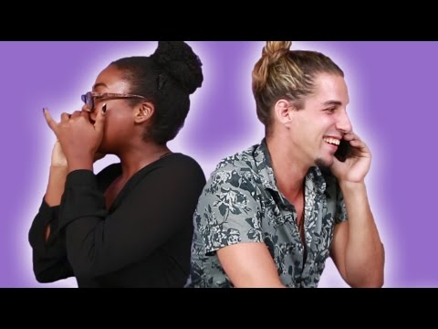 COUPLES HAVE PHONE SEX FOR THE FIRST TIME