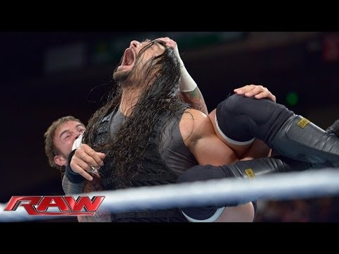 CM Punk vs. Roman Reigns: Raw, Jan. 6, 2014