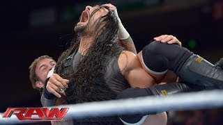 CM Punk vs. Roman Reigns: Raw, Jan. 6, 2014