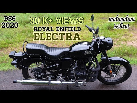Royal Enfield Electra BS6 🔥 The Perfect Bullet 👌| 350 ES EFI |Review| #black #royalenfield #electra