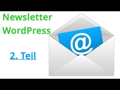 , title : '2. Newsletter mit WordPress und CleverReach - Anmeldung CleverReach'