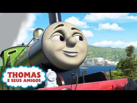 Thomas e Seus Amigos | Uma Locomotiva de Muitas Cores e mais! | 30 minutos de compilação | O Trem