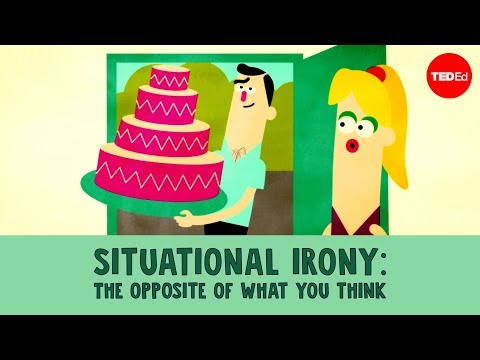 Situational irony: The opposite of what you think - Christopher Warner (видео)