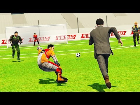 Playing Football In GTA 5! (Reality Mod)