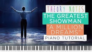 Video How to Play The Greatest Showman (Ziv Zaifman) - A Million Dreams | Theory Notes Piano Tutorial MP3, 3GP, MP4, WEBM, AVI, FLV Juli 2018