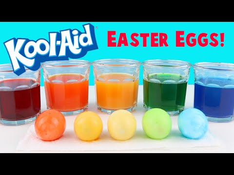 Video How to Dye Easter Eggs with KOOL AID! Super Easy DIY Tutorial download in MP3, 3GP, MP4, WEBM, AVI, FLV January 2017