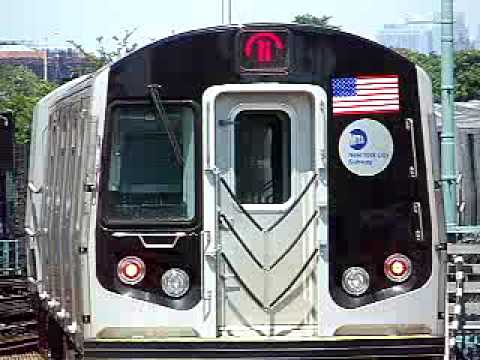 MustangFan424 - This is a video I took of a R160B N Train leaving Stillwell Ave.