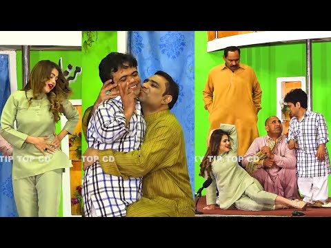 Vicky Kodu with Silk Chaudhry   Qaiser Piya   Shazeb Mirza   New Stage Drama 2021   Comedy Clip 2021