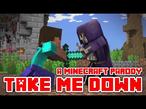 """Minecraft Song and Videos """"Take Me Down"""" A Minecraft Parody of Drag Me Down By One Dirrection"""