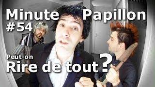 Video Minute Papillon #54 Peut-on rire de tout? (Feat Desproges) MP3, 3GP, MP4, WEBM, AVI, FLV Juni 2017