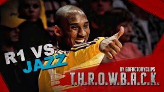 Throwback: Kobe Bryant 2009 Playoffs 1st Round Full Highlights vs Utah Jazz (HD 720)