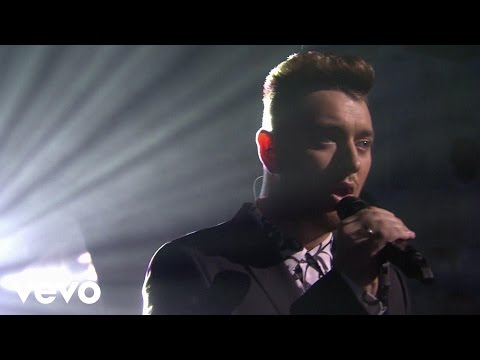 Sam Smith - Lay Me Down (Live at The BRIT Awards 2015) (видео)