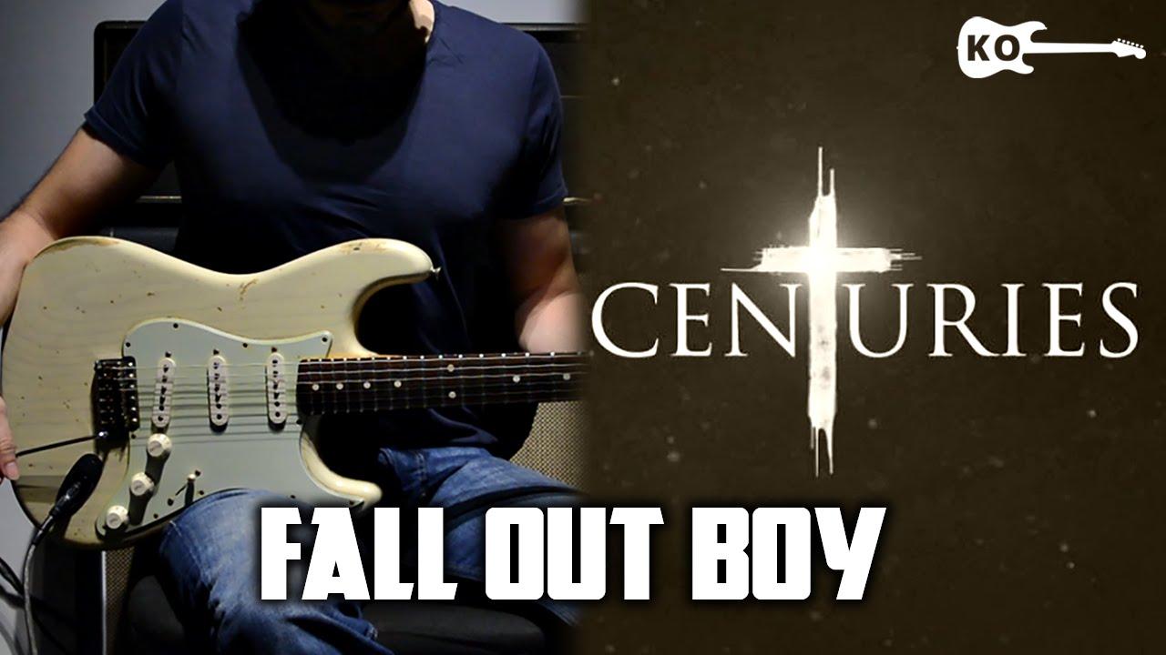 Fall Out Boy – Centuries – Electric Guitar Cover by Kfir Ochaion
