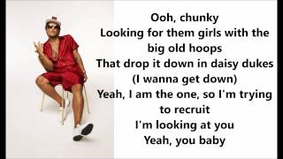 Video Bruno Mars - Chunky Lyrics / Letras MP3, 3GP, MP4, WEBM, AVI, FLV Maret 2017