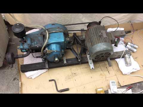 Как из мотора сделать генератор видео