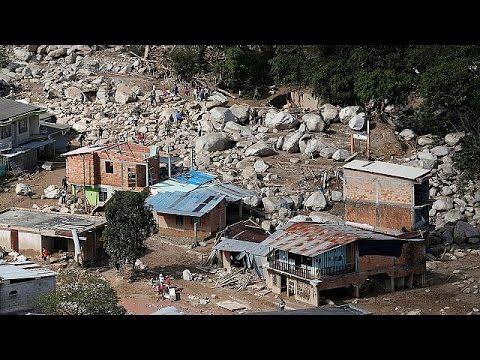 Κολομβία: Τους 273 έχουν φτάσει οι νεκροί από τις πρωτοφανείς κατολισθήσεις