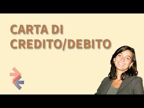 Carta di credito/debito