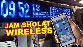 Order by sms atau telegram : 08970869443Jam sholat wireless ini menggunakan komunikasi bluetooth ke aplikasi android nya.Jadwal sholat secara otomatis diatur sesuai koordinat yang telah di tentukan oleh gps pada handphone.Aplikasi android di rancang oleh impertech.