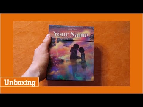 Unboxing Your Name. / Kimi no Na Wa. limited Collectors Edition + Artboards + Booklet