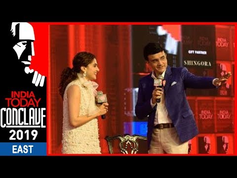 Taapsee Pannu And Sourav Ganguly Share Stage On India Today Conclave | #ConclaveEast19