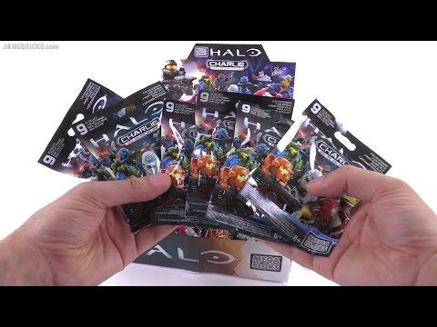 Mega Bloks Halo series Charlie mystery pack openings Sep. 16, 2015
