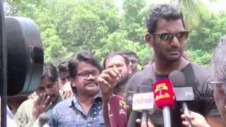 Vishal Paayum Puli Relase Issue – I Will Give My Life  Kollywood News 03/09/2015 Tamil Cinema Online