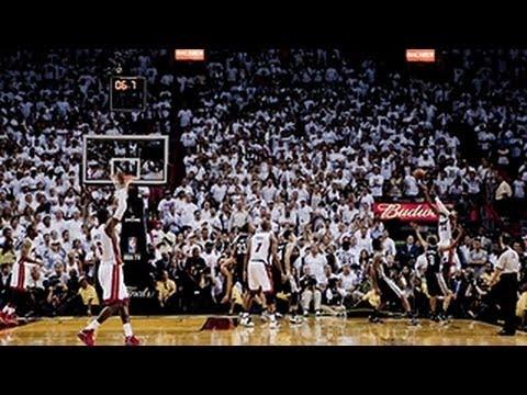 Impresionante anotación de 3 puntos - Finales NBA