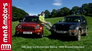 Richard Hammond reviews the 2001 Jeep Grand Cherokee, taking a look at it's off-road credentials, checking out the performance and handling, as well as seeing how comfortable and practical it is.  ------------------ Don't forget to SUBSCRIBE for more content!  http://www.youtube.com/user/menandmotors?sub_confirmation=1  å© Men and Motors - One Media iP 2017