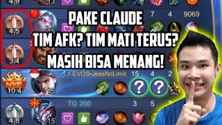 Video PAKE CLAUDE. TIM AFK? TIM MATI TERUS? BISA MENANG!! MP3, 3GP, MP4, WEBM, AVI, FLV September 2018