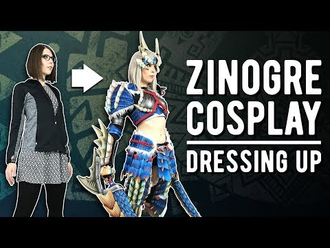 Zinogre Cosplay Transformation - Monster Hunter