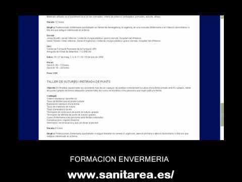 Cursos enfermeria – Formacion enfermeria – Sanitarea