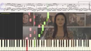 """Вальс (Эти сны...) - Анна Кошмал (OST """"Сваты"""") (Ноты и Видеоурок для фортепиано) (piano cover)"""