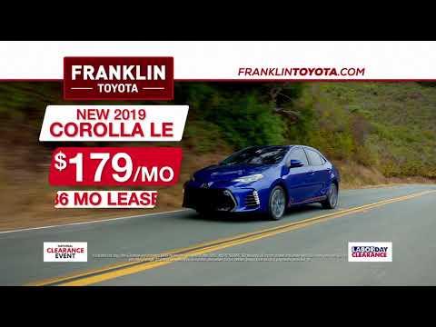 Franklin Toyota - Labor Day - Car