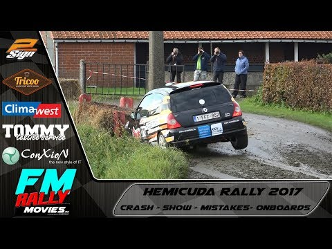 Hemicuda rally 2017 | CRASH - MISTAKES - SHOW - ONBOARDS [HD]