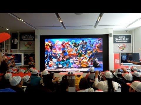 Nintendo Direct E3 2018 Live Reactions at Nintendo NY (видео)