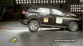 NEW Toyota RAV4 - 2013 Crash Test Euro NCAP