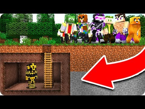 BASE SECRETA VS APOCALIPSIS DE YOUTUBERS EN MINECRAFT 😱