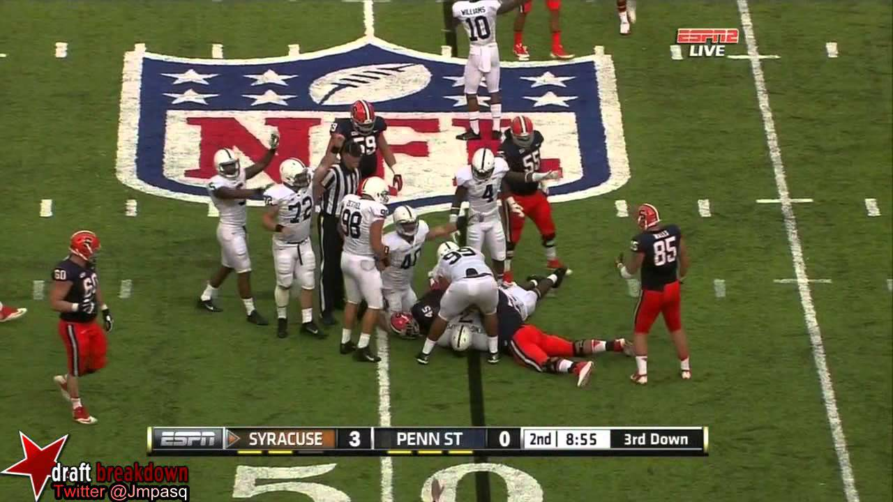 Jerome Smith vs Penn State (2013)