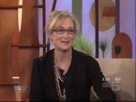 Meryl Streep on Ellen.