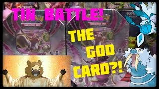 Pokemon Cards! Opening 2 Hoopa Ex Tins! BIDOOF GOD CARD?!?!?!?!? by Master Jigglypuff and Friends
