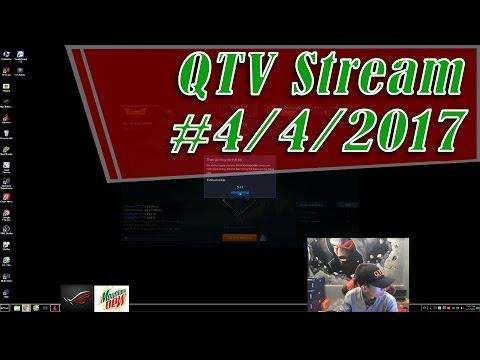 QTV Live Stream 4/4/2017 - AFK BỊ PHẠT 20 PHÚT | Liên Minh eSport Live Stream
