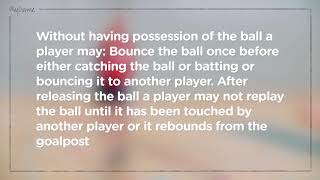 Rules - Incorrect Playing the Ball - Rule 9.4