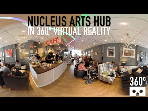 Nucleus Arts Hub, Chatham, Kent - VR 360 Video