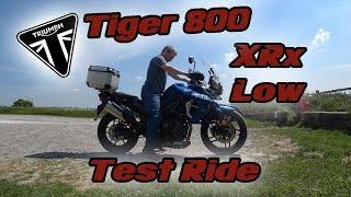 1. New 2018 Tiger 800 XRx Low Test Ride