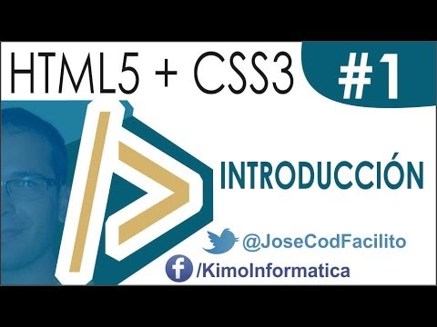 Tutoriales HTML5 + CSS3 - 01 Introducción | Web Autoajustable En Dispositivos